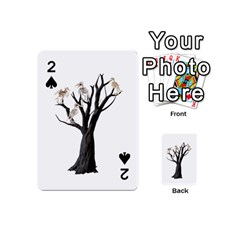 Dead Tree  Playing Cards 54 (mini)  by Valentinaart