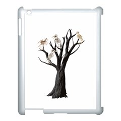 Dead Tree  Apple Ipad 3/4 Case (white) by Valentinaart