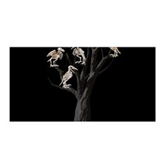 Dead Tree  Satin Wrap by Valentinaart
