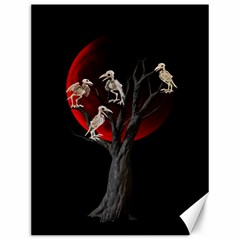 Dead Tree  Canvas 12  X 16   by Valentinaart