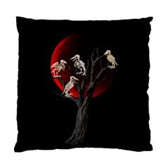 Dead Tree  Standard Cushion Case (one Side) by Valentinaart