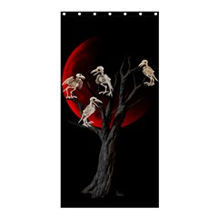 Dead Tree  Shower Curtain 36  X 72  (stall)  by Valentinaart