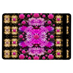 Flowers And Gold In Fauna Decorative Style Ipad Air Flip by pepitasart