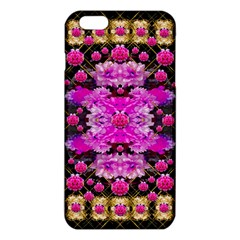 Flowers And Gold In Fauna Decorative Style Iphone 6 Plus/6s Plus Tpu Case by pepitasart