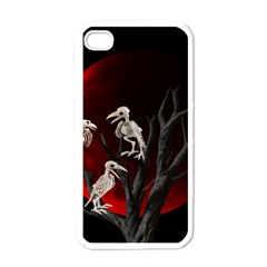 Dead Tree  Apple Iphone 4 Case (white) by Valentinaart