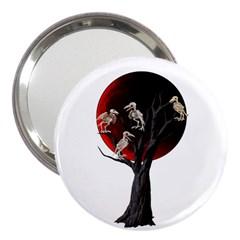 Dead Tree  3  Handbag Mirrors by Valentinaart