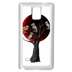Dead Tree  Samsung Galaxy Note 4 Case (white) by Valentinaart