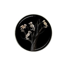 Dead Tree  Hat Clip Ball Marker (4 Pack) by Valentinaart