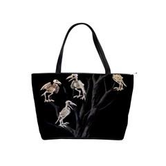 Dead Tree  Shoulder Handbags by Valentinaart