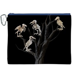 Dead Tree  Canvas Cosmetic Bag (xxxl) by Valentinaart