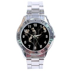 Dead Tree  Stainless Steel Analogue Watch by Valentinaart