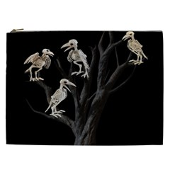 Dead Tree  Cosmetic Bag (xxl)  by Valentinaart
