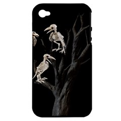 Dead Tree  Apple Iphone 4/4s Hardshell Case (pc+silicone) by Valentinaart
