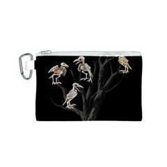 Dead Tree  Canvas Cosmetic Bag (s) by Valentinaart