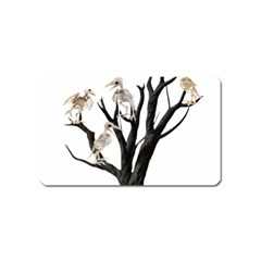 Dead Tree  Magnet (name Card) by Valentinaart