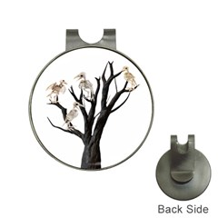 Dead Tree  Hat Clips With Golf Markers by Valentinaart