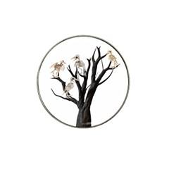 Dead Tree  Hat Clip Ball Marker by Valentinaart