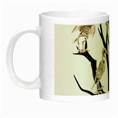 Dead Tree  Night Luminous Mugs by Valentinaart
