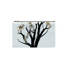 Dead Tree  Cosmetic Bag (small)  by Valentinaart
