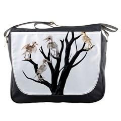 Dead Tree  Messenger Bags by Valentinaart