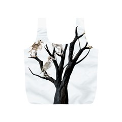 Dead Tree  Full Print Recycle Bags (s)  by Valentinaart