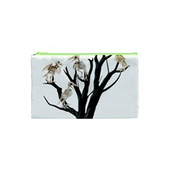 Dead Tree  Cosmetic Bag (xs) by Valentinaart