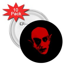 Dracula 2 25  Buttons (10 Pack)  by Valentinaart