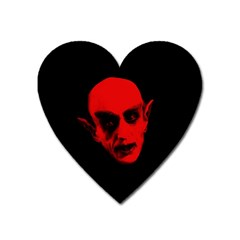Dracula Heart Magnet by Valentinaart