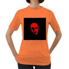 Dracula Women s Dark T Shirt by Valentinaart