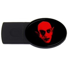Dracula Usb Flash Drive Oval (4 Gb) by Valentinaart