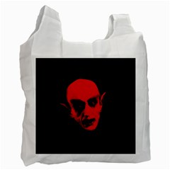 Dracula Recycle Bag (one Side) by Valentinaart