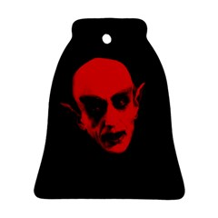 Dracula Bell Ornament (two Sides) by Valentinaart