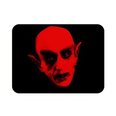 Dracula Double Sided Flano Blanket (mini)  by Valentinaart