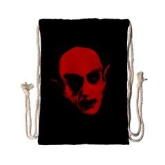 Dracula Drawstring Bag (small) by Valentinaart