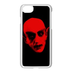 Dracula Apple Iphone 7 Seamless Case (white) by Valentinaart