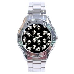 Dracula Stainless Steel Analogue Watch by Valentinaart
