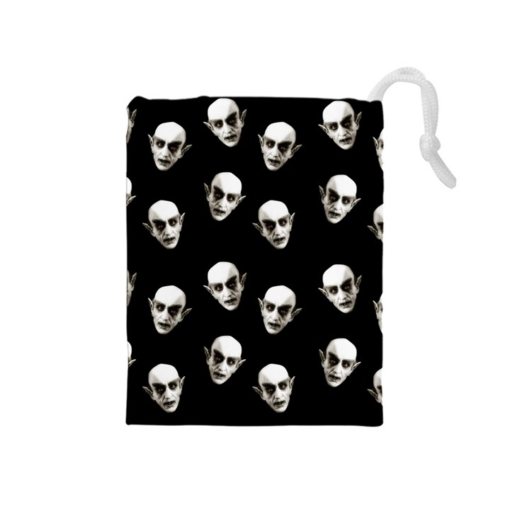 Dracula Drawstring Pouches (Medium)