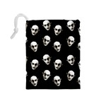 Dracula Drawstring Pouches (Medium)  Back