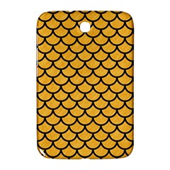 Scales1 Black Marble & Orange Colored Pencil (r) Samsung Galaxy Note 8 0 N5100 Hardshell Case