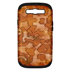 Fantasy Dungeon Maps 2 Samsung Galaxy S Iii Hardshell Case (pc+silicone) by MoreColorsinLife