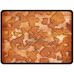 Fantasy Dungeon Maps 2 Double Sided Fleece Blanket (large)  by MoreColorsinLife