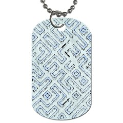 Fantasy Dungeon Maps 3 Dog Tag (one Side) by MoreColorsinLife