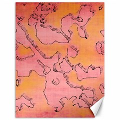 Fantasy Dungeon Maps 6 Canvas 12  X 16   by MoreColorsinLife