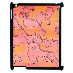 Fantasy Dungeon Maps 6 Apple Ipad 2 Case (black) by MoreColorsinLife