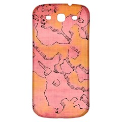 Fantasy Dungeon Maps 6 Samsung Galaxy S3 S Iii Classic Hardshell Back Case by MoreColorsinLife