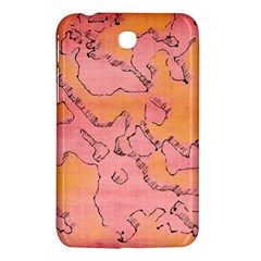 Fantasy Dungeon Maps 6 Samsung Galaxy Tab 3 (7 ) P3200 Hardshell Case  by MoreColorsinLife