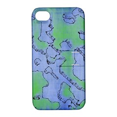 Fantasy Dungeon Maps 5 Apple Iphone 4/4s Hardshell Case With Stand by MoreColorsinLife