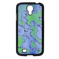 Fantasy Dungeon Maps 5 Samsung Galaxy S4 I9500/ I9505 Case (black)