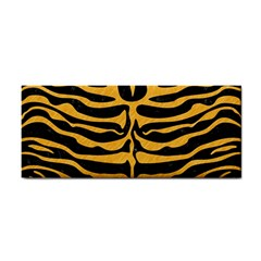 Skin2 Black Marble & Orange Colored Pencil Cosmetic Storage Cases by trendistuff