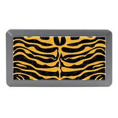 Skin2 Black Marble & Orange Colored Pencil Memory Card Reader (mini) by trendistuff